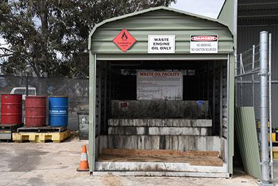 Engine Oil waste disposal