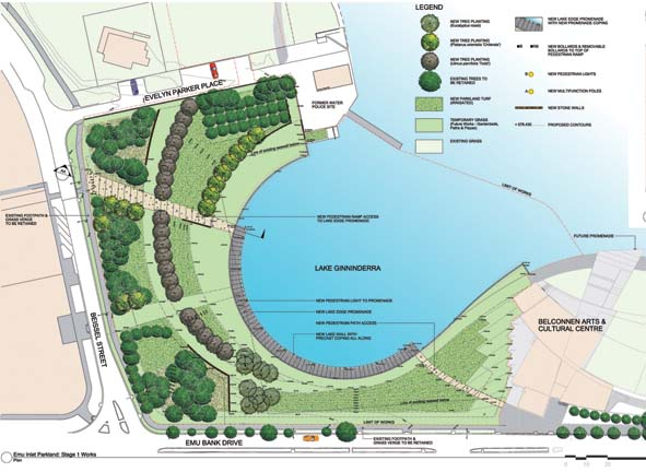 Emu Inlet Parkland Stage 1 Works Plan