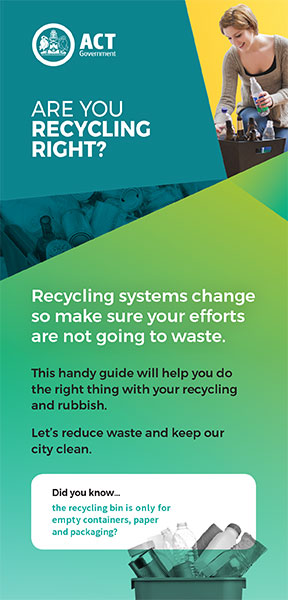 Are you Recycling Right brochure