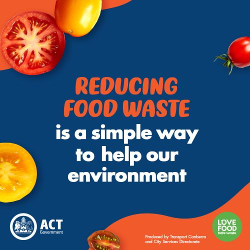 Reducing food waste is a simple way to help our environment