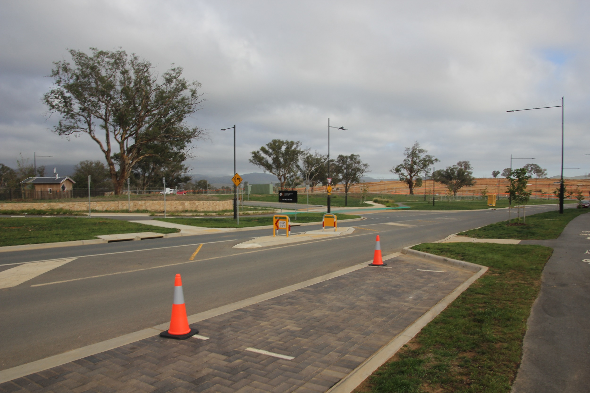 Improved line of sight at Harrison Primary School