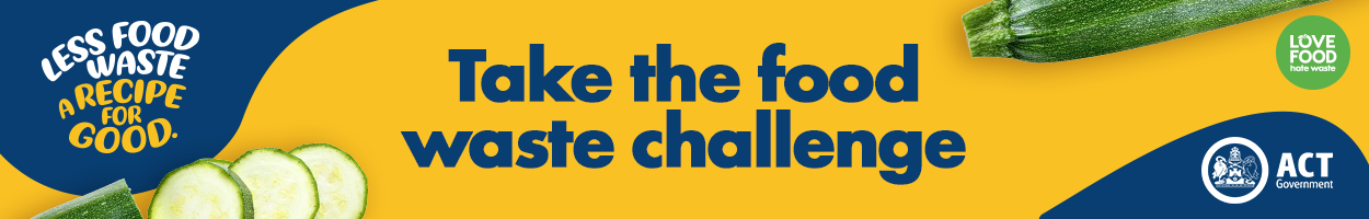 Take the food waste challenge