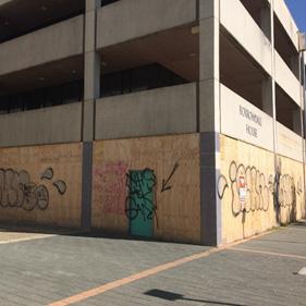 Graffiti in Woden